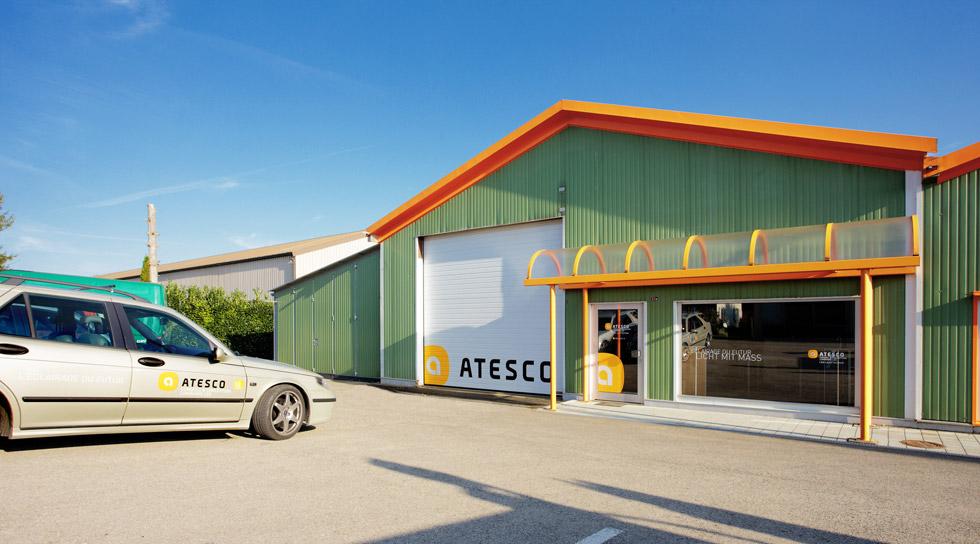 Atesco Gebäude