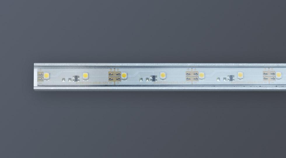mini led lichtleiste 12v ip65 atesco. Black Bedroom Furniture Sets. Home Design Ideas